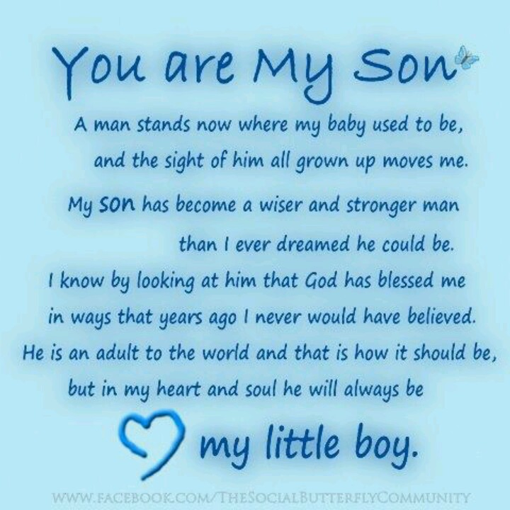 Poems For Son In Heaven On His Birthday Archidev