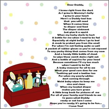 Poem To Daddy From Unborn Baby Girl Archidev