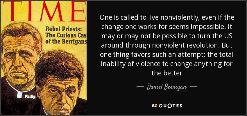 Daniel Berrigan Poems