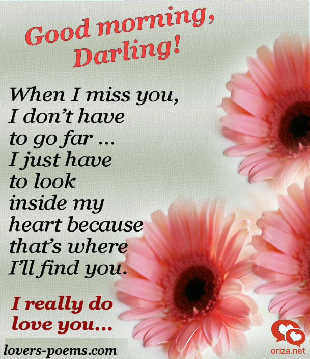Exceptional Good Morning Love Letter To My Sweetheart. Good Morning I Love You Poems .
