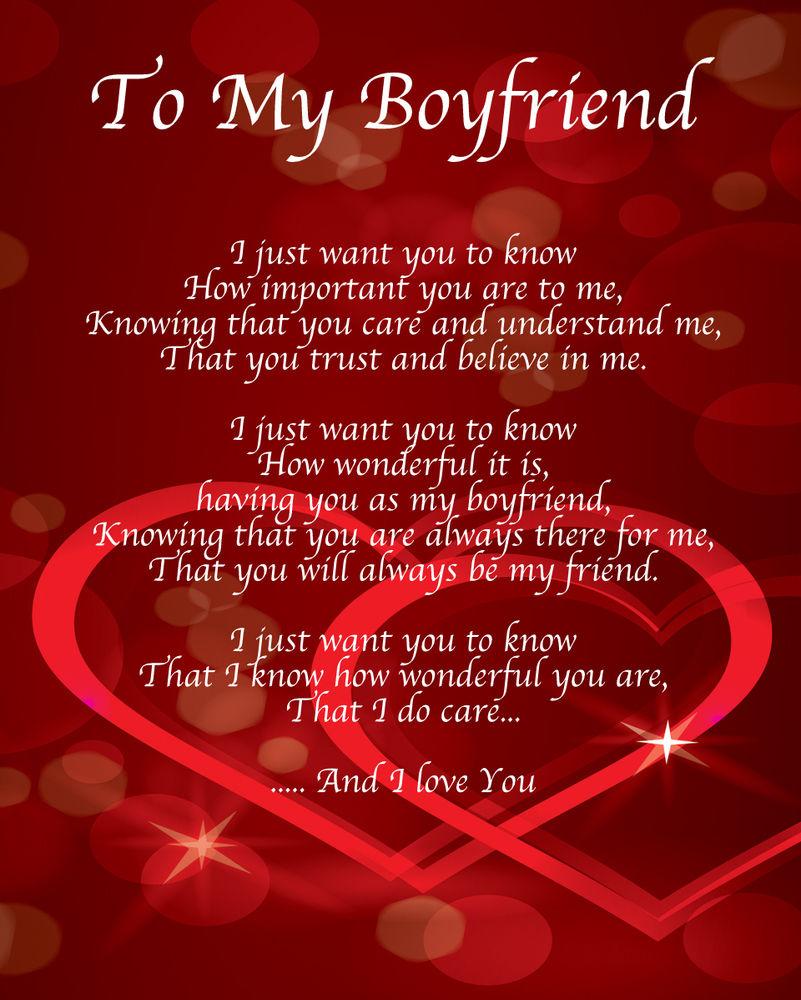 Poem to my lovely boyfriend