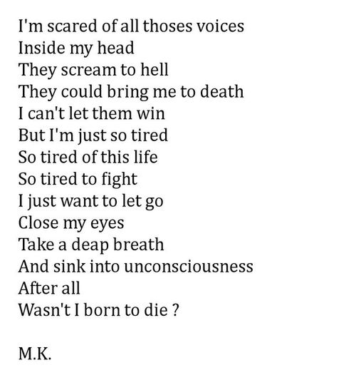 Saying Quotes About Sadness: Depression Poems