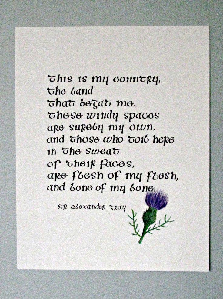 Scots poems best 25 scottish s ideas on pinterest red gold m4hsunfo