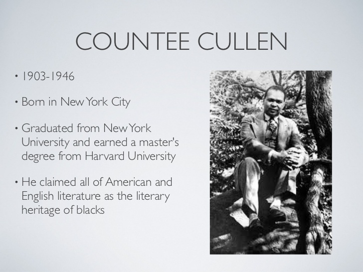 """an examination of the poem yet do i marvel by countee cullens """"yet do i marvel"""" opens with a declaration of faith in god's ways, and this faith is sustained through the first twelve lines god is """"good, well-meaning, kind,"""" and he does not need to."""