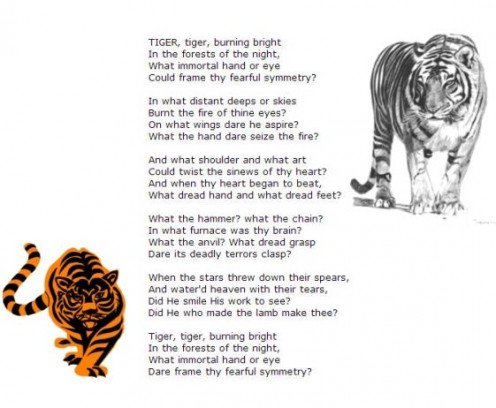 the religious background and the use of personification and symbolism in the tyger a poem by william From earliest times, white horses have been mythologised as possessing exceptional properties, transcending the normal world by having wings (eg pegasus from greek mythology), or having horns (the unicorn)as part of its legendary dimension, the white horse in myth may be depicted with seven heads (uchaishravas) or eight feet (), sometimes in groups or singly.
