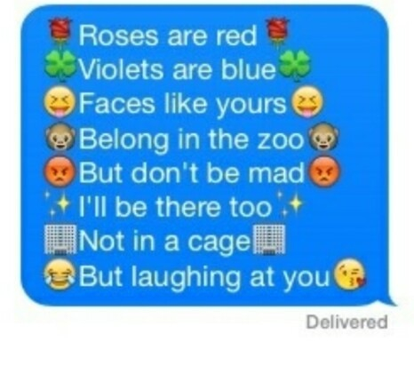 roses are red violets are blue funny poems