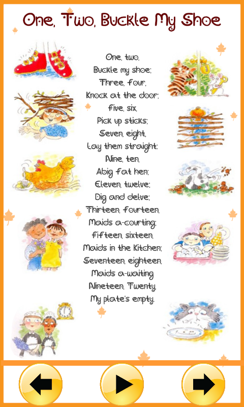 Baby Nursery Poems