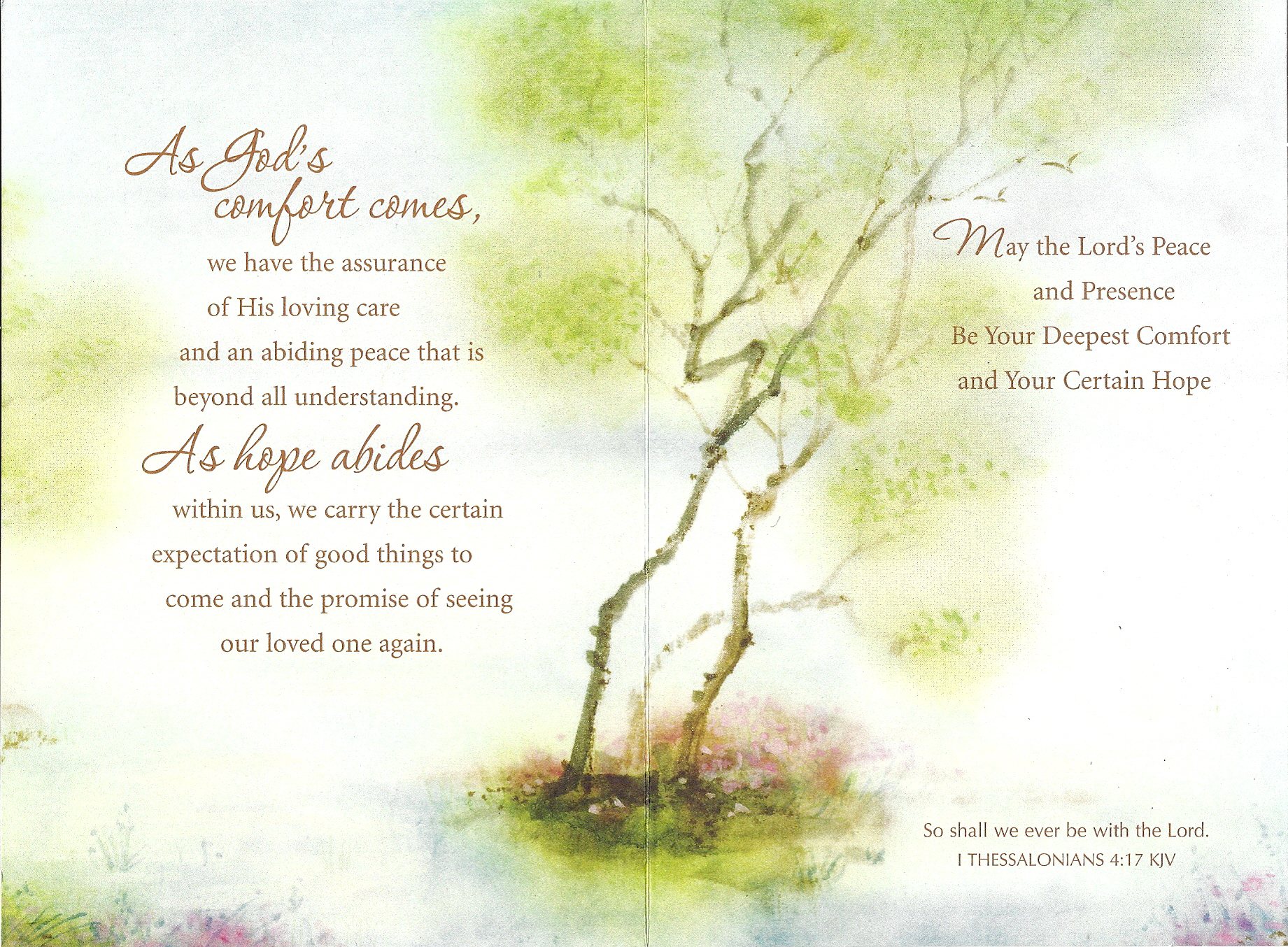 Religious Sympathy Poems