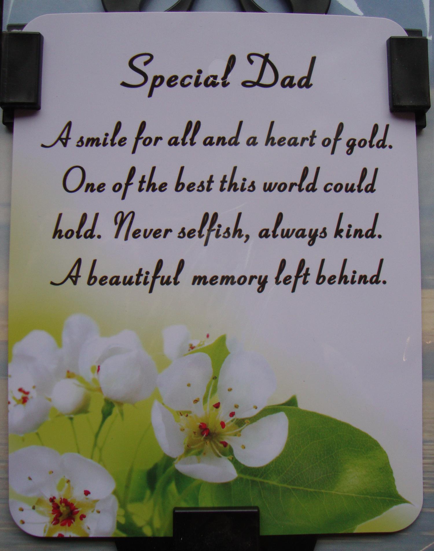Dad Memorial Poems
