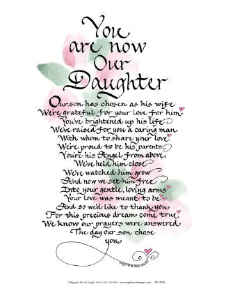 Daughter In Law Quotes | Law Poems