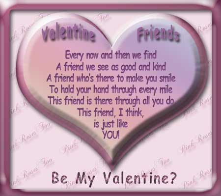 Valentine Friendship Poems Impressive Valentine Day Quotes For Friend