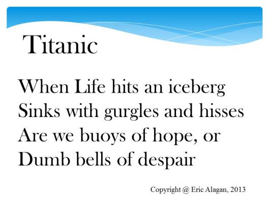 titanic diary-life onboard essay One of the most popular love stories was that of the owners of macy's department store, new york, mr isidor straus, and his wife, ida, who travelled back from winter in europe onboard titanic.