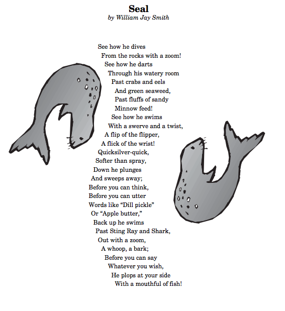 seal poem by william jay smith