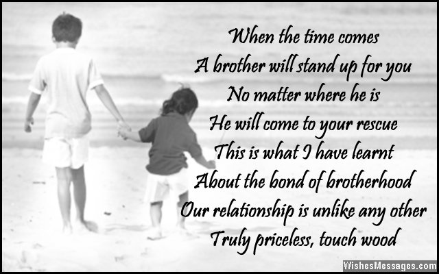 Brother Sister Poems