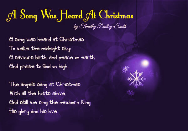 christmas childrens poems