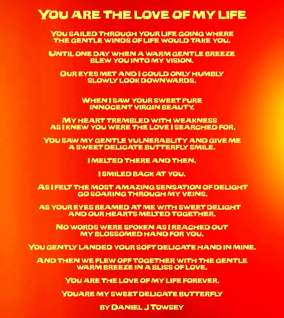 Love Of My Life Poems