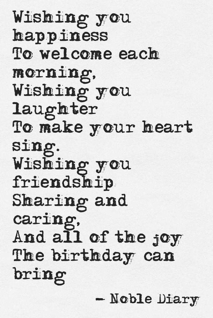 Birthday Greetings Poems