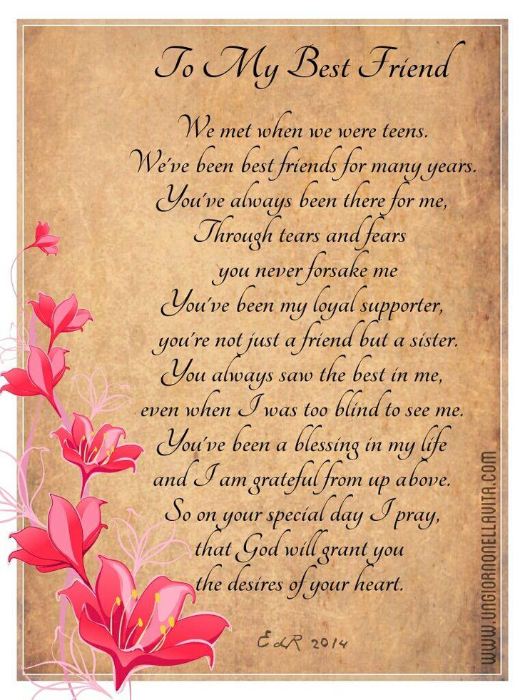Short letter to my best friend on her birthday dolapgnetband short letter to my best friend on her birthday greeting poems m4hsunfo
