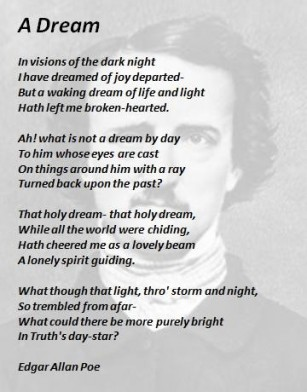 List Of Edgar Allan Poe Poems