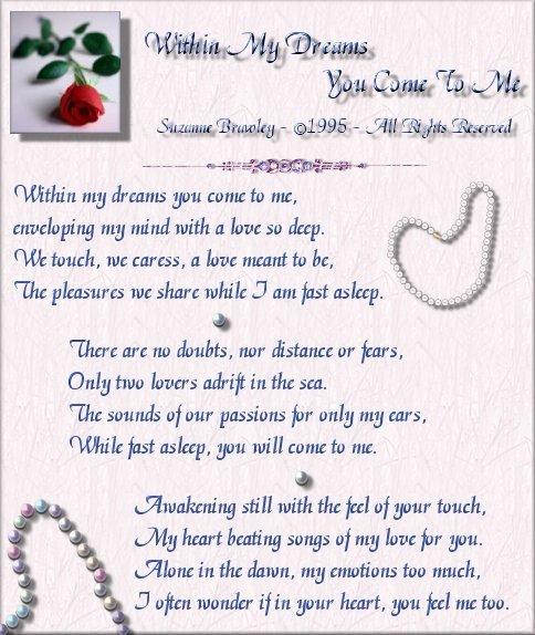 Distance Poems