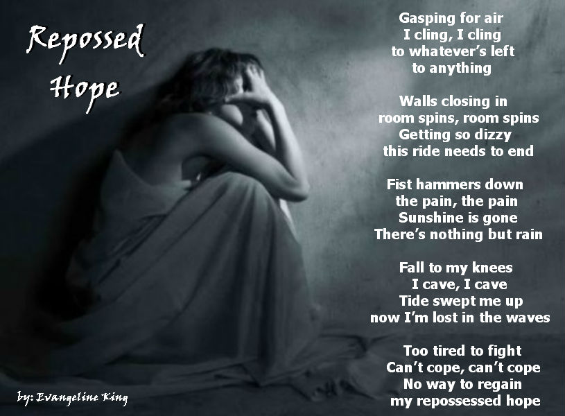 Sad Depressing Poems