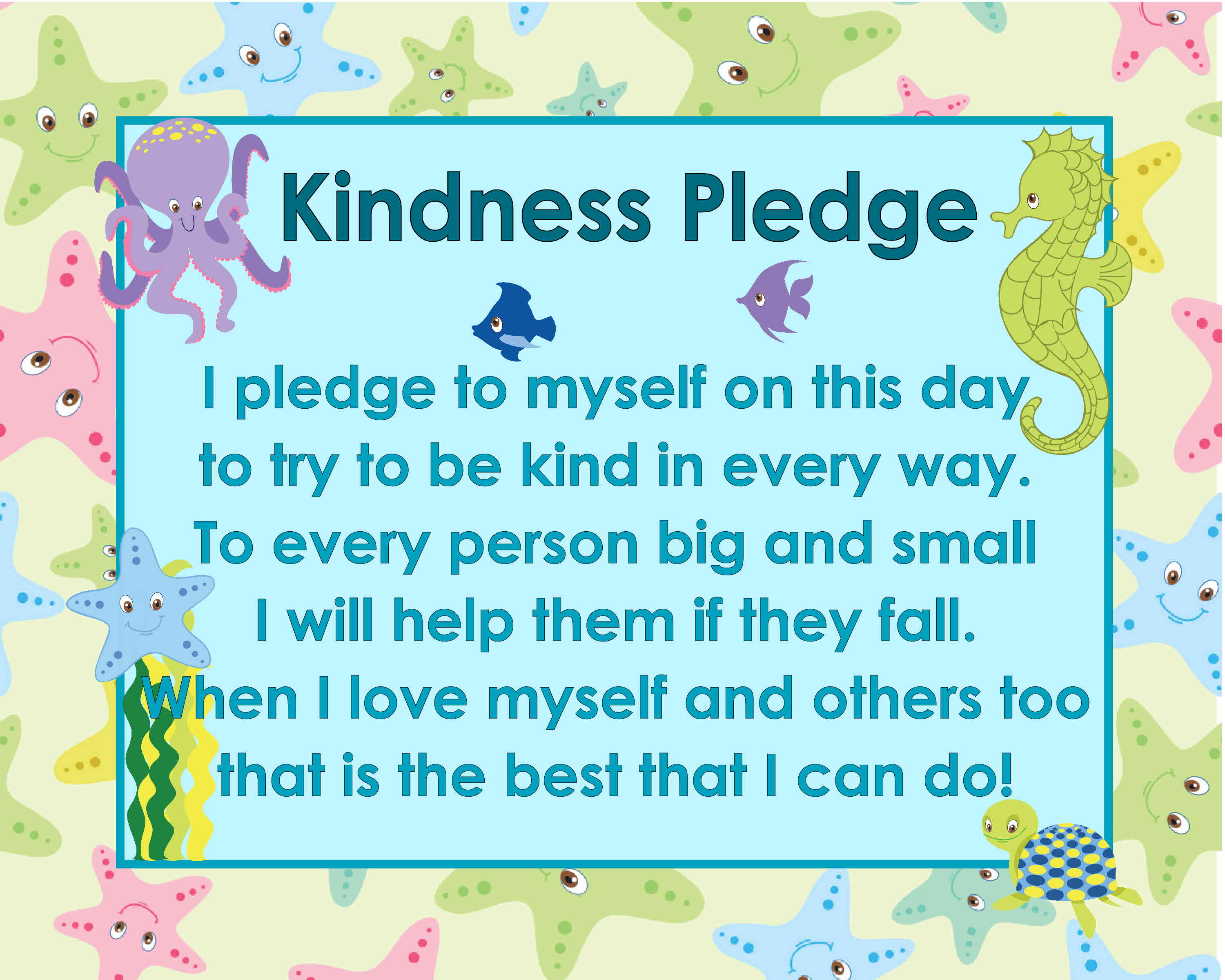 Poems about kindness for children 13