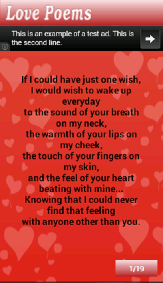 example of poem about love