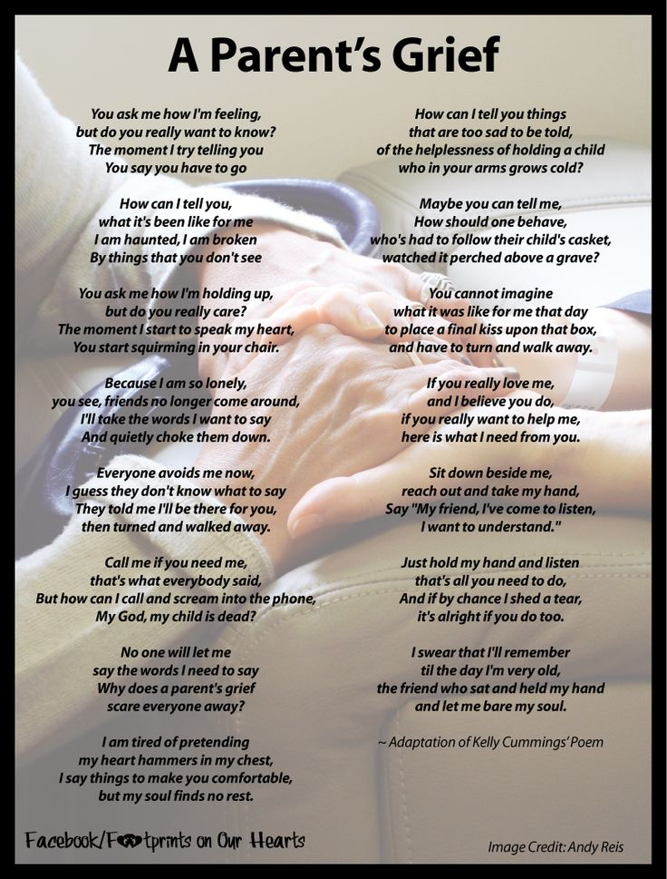 Grieving mother Poems