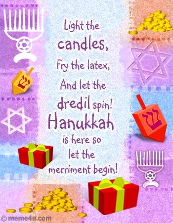 Hanukkah Poems