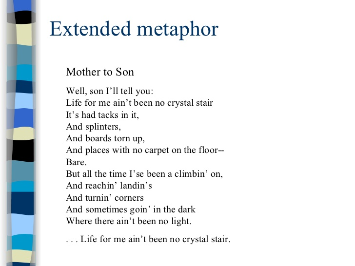 Extended Metaphor Poems