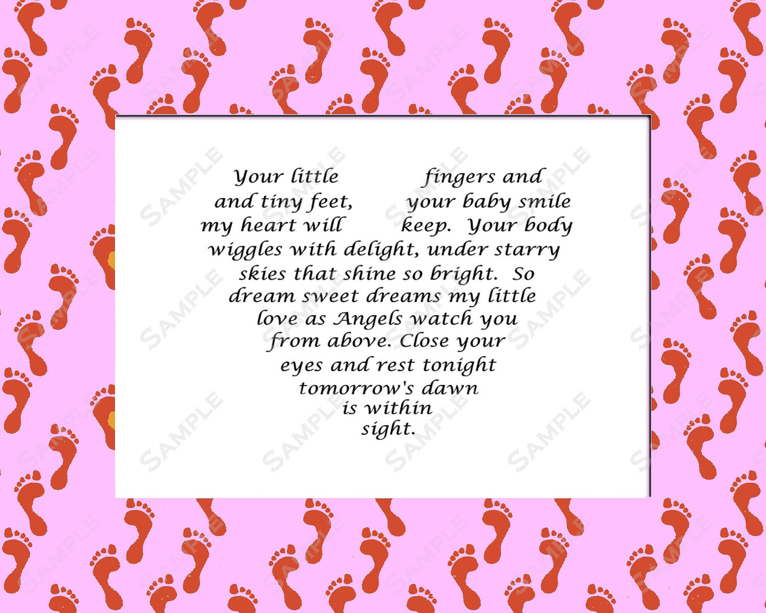 Baby Girl Poems