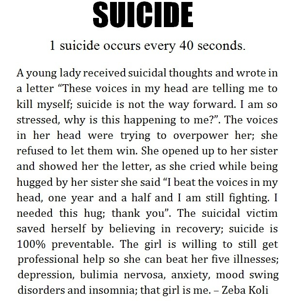 Suicide Poems And Quotes: Suicidal Thoughts Poems
