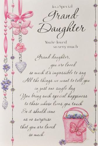 Inspirational Quotes For Granddaughter Birthday QuotesGram