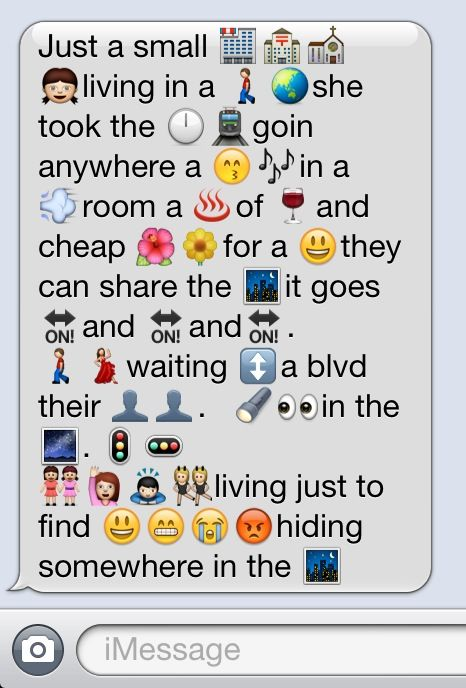 Emoji Poems