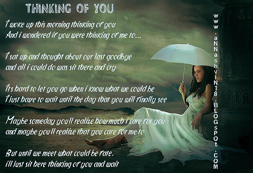Thinking About You Poems