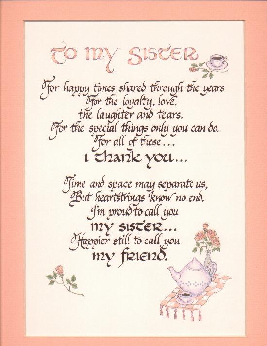 Tremendous Happy Birthday Little Sister Poems Funny Birthday Cards Online Elaedamsfinfo