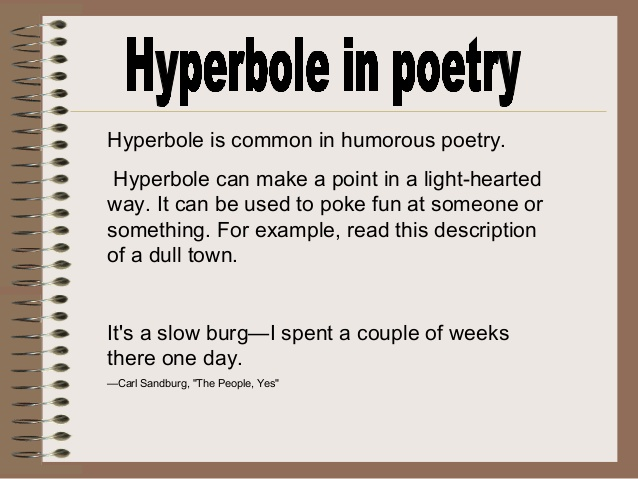 Exaggerated Poems