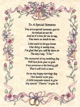 you re special to me poems