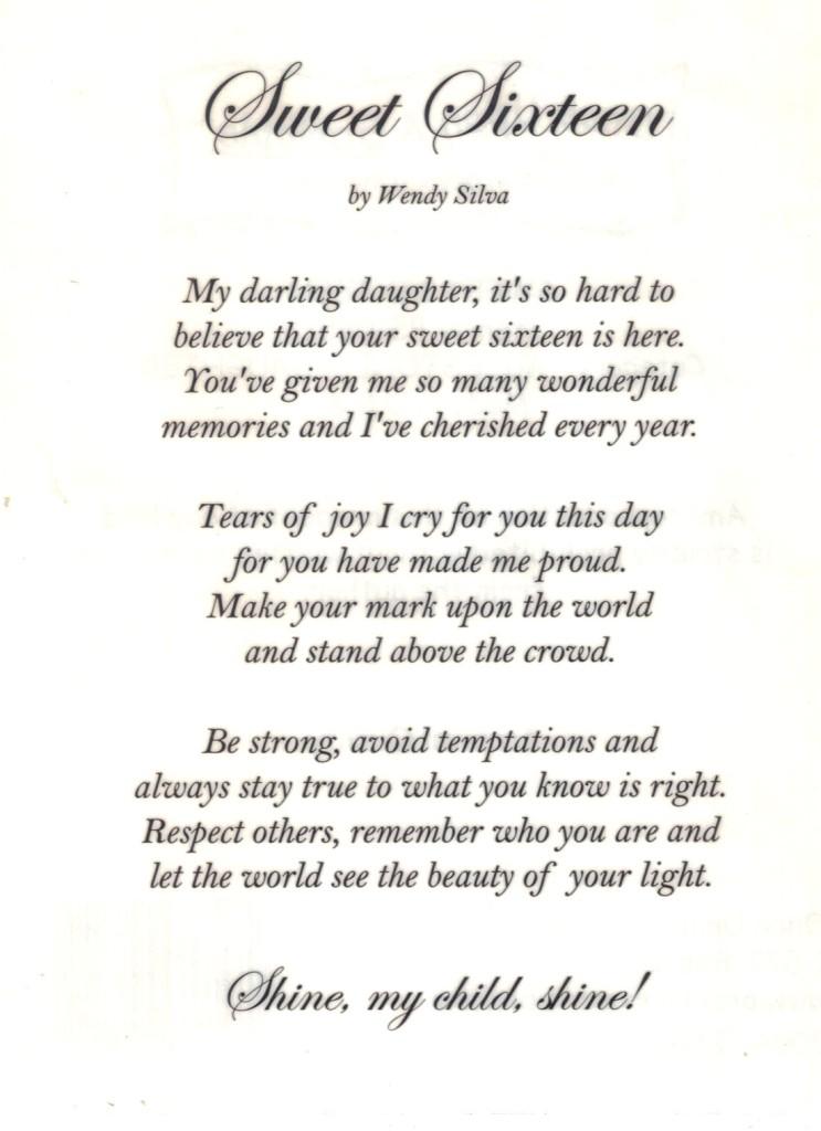 scrapbooking poems
