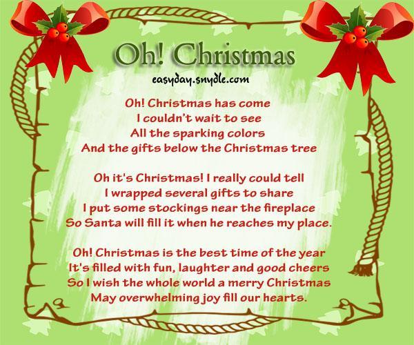 Christmas card poems famous christmas s easyday m4hsunfo