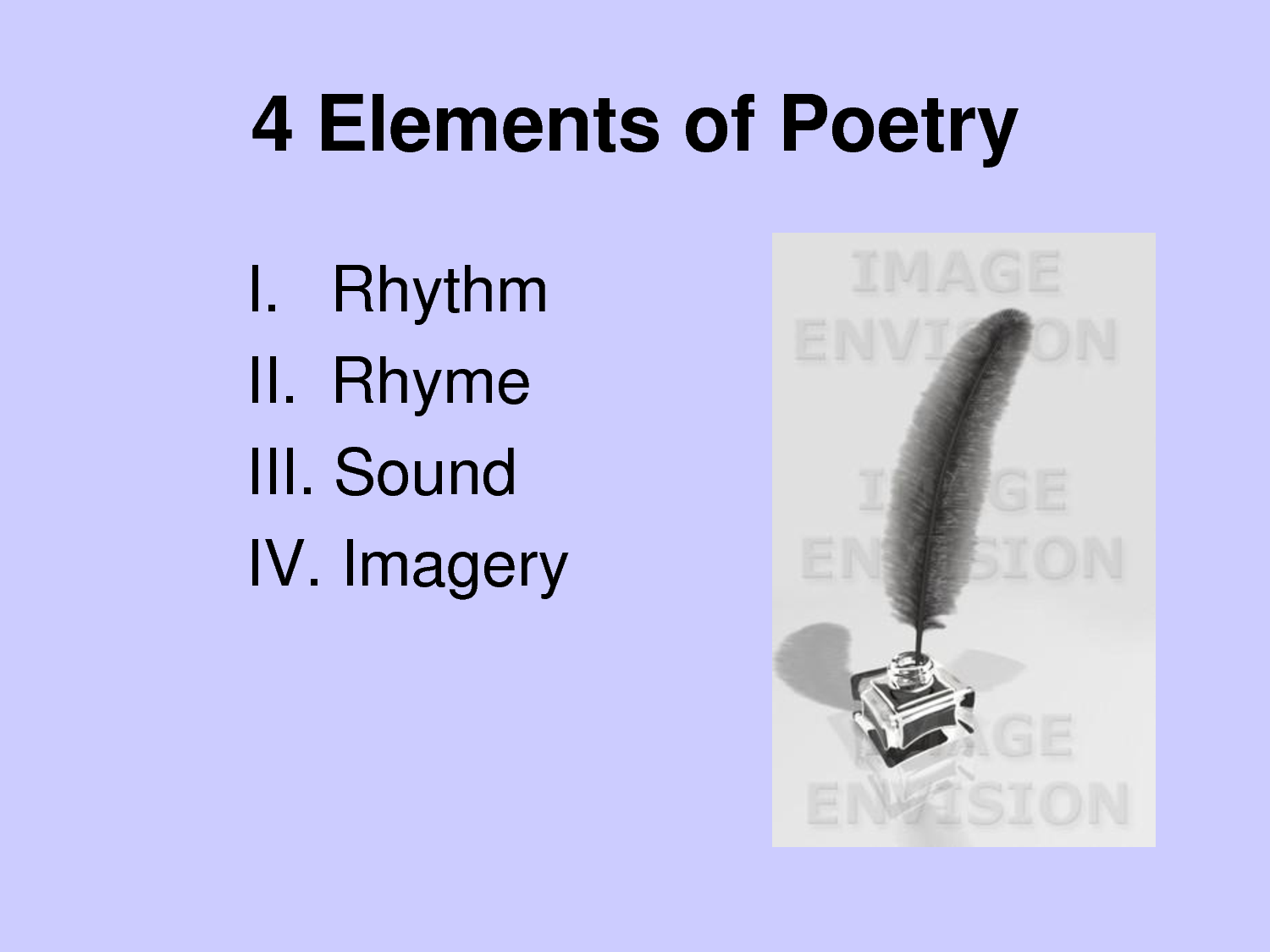 two basic elements of a lyric poetry Lyric poetry is a formal type of poetry which expresses personal emotions or feelings, typically spoken in the first person the term derives from a form of ancient greek literature, the lyric, which was defined by its musical accompaniment, usually on a stringed instrument known as a lyre.
