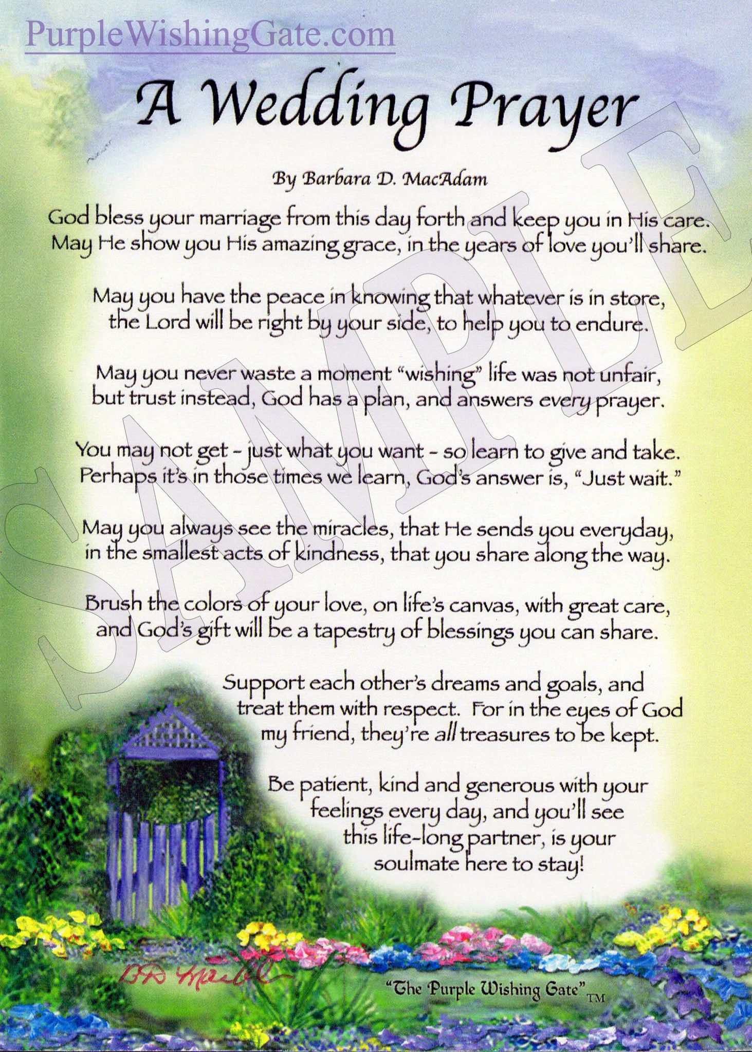 A Wedding Blessing Prayer Weddings And