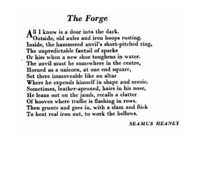Heaney Poems