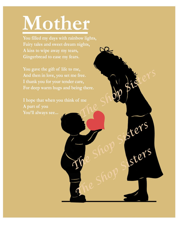 Son mother Poems