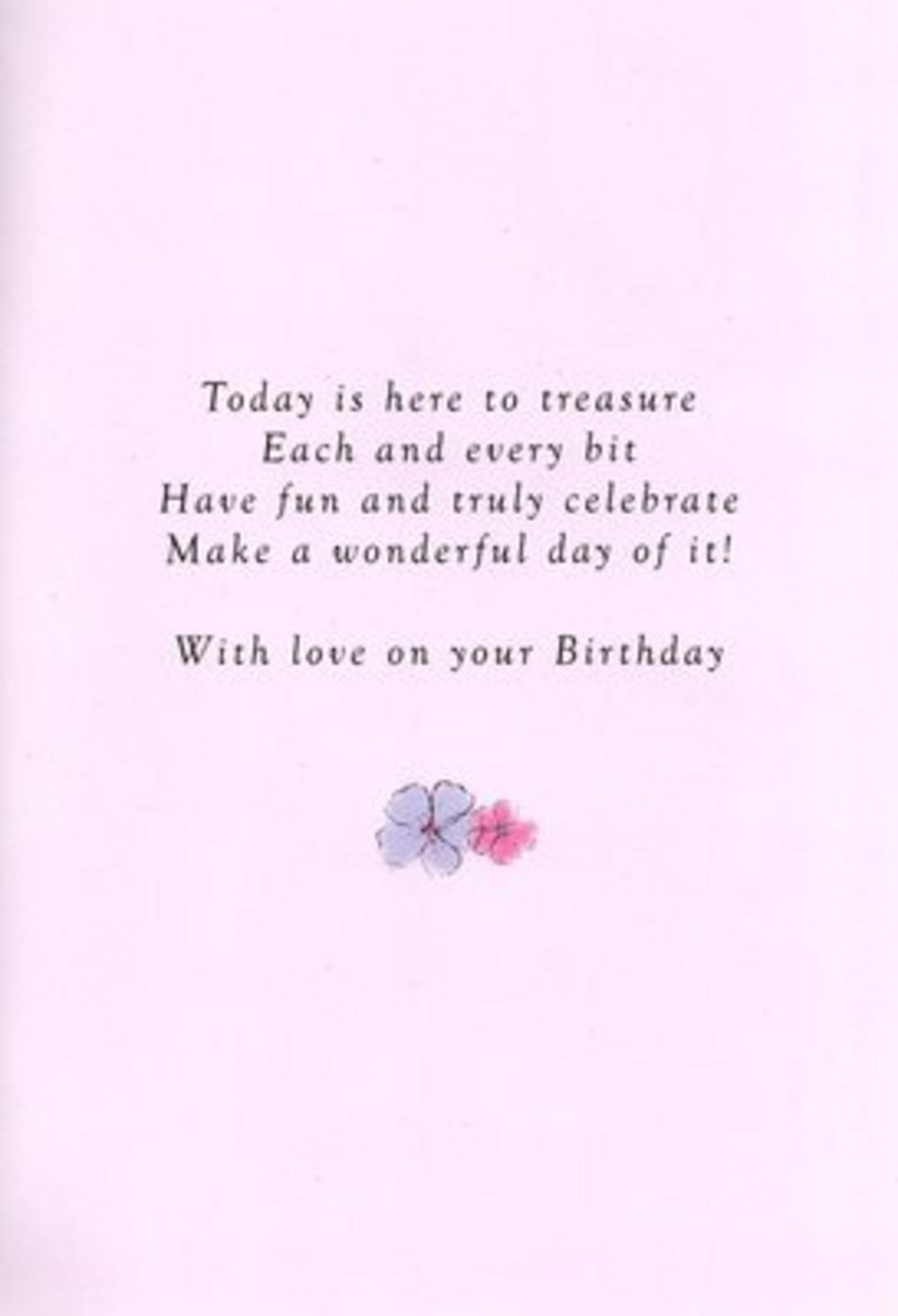 Mother Birthday Poetry In Motion Card Cards Love Kates