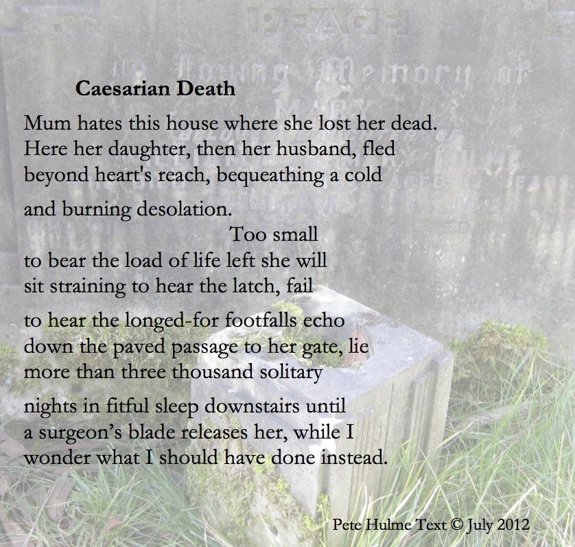 poems about tragedy deaths