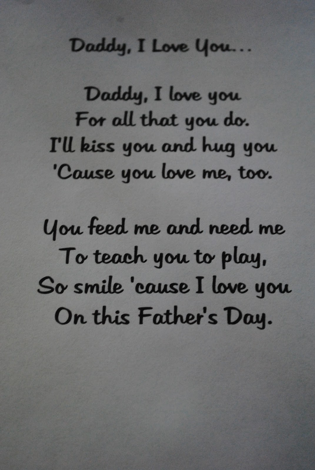 fathersday poems