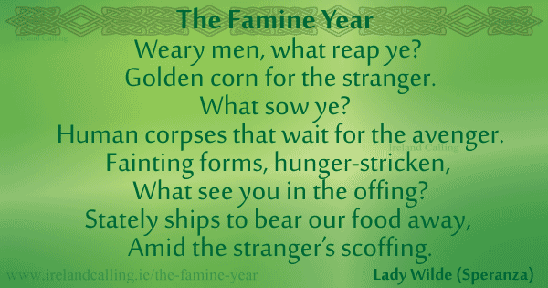 the famine road poem