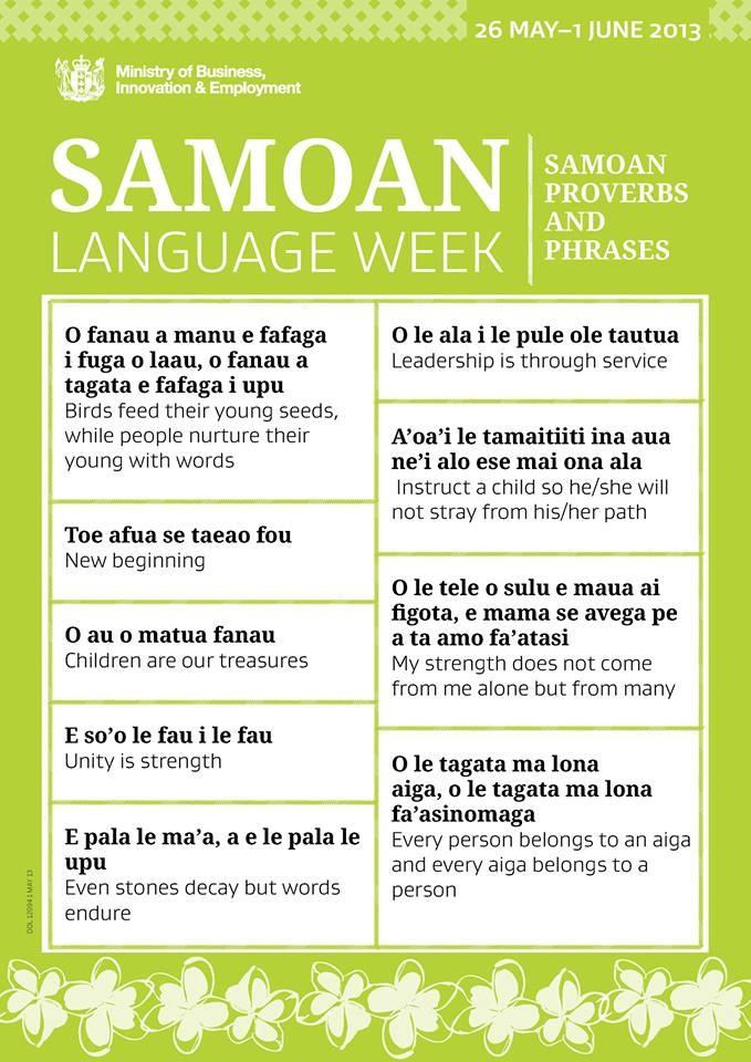 Samoan poems m4hsunfo