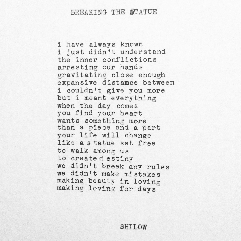 Love Hurt Poems